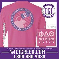 TGI Greek - Phi Delta Theta - Recruitment - Greek T-shirt #tgigreek #phideltatheta