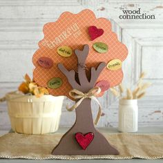 The Wood Connection - Thankful Tree, $9.95 (http://thewoodconnection.com/thankful-tree/)
