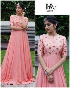 Half Saree Designs, Lehenga Designs, Dress Designs, Blouse Designs, Long Gown Dress, Frock Dress, Stylish Dresses, Fashion Dresses, Gown Party Wear
