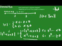 Integral definida del valor absoluto de un trinomio