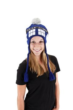 $14.56 Elope Doctor Who Tardis Laplander, Blue, One Size