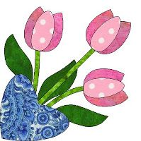 Morning Glory Designs: So Much News. So Little Time Quilt Block Patterns, Applique Patterns, Applique Quilts, Pattern Blocks, Applique Designs, Embroidery Applique, Quilting Designs, Flower Patterns, Quilt Blocks
