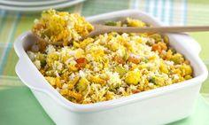 Farofa de legumes e ovos | MdeMulher