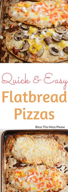 Easy Flatbread Pizza