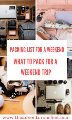 Weekend Trip Packing, Packing List For Travel, Packing Tips, Travel Trip, Travel Europe, Adventure Travel, Travel Destinations, Weekender, International Travel Tips