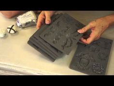 Iron Orchid Decor Vintage Art Decor Moulds - YouTube