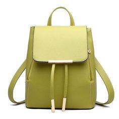 Женщины рюкзак высокое качество искусственная кожа Mochila эсколар школьные сумки для подростков Top   ручка рюкзаки вестник модакупить в магазине Herald Fashion Co.,Ltd.наAliExpress