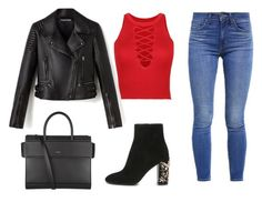 """""""Going Out"""" by emmavanweert on Polyvore featuring Levi's, Givenchy and WithChic"""