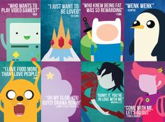 8x12 Adventure Time Poster by LittleBambii04 on Etsy, $10.00