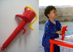 Manual Water Pump (from At Home with Montessori: Materials for Hand Development)