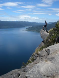 Panekire Bluff, Lake Waikaremoana, North Island, New Zealand ~ Travel Around The World, Around The Worlds, Beautiful World, Beautiful Places, Great Walks, New Zealand Travel, South Island, Countries Of The World, Where To Go
