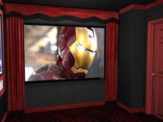 Standard Home Theater Curtains Standard Home Theater Curtains - Heimkino Systemdienste