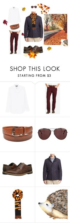 """learning"" by you-piccolo on Polyvore featuring MANGO MAN, Polo Ralph Lauren, Burberry, Steve Madden, Barbour, Blood Brother, men's fashion и menswear"