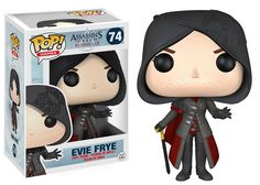 Cute meets extremely deadly! This Assassin's Creed Syndicate Evie Frye Pop! Vinyl Figure features the assassin from the continuation of the hit video game franchise, Assassin's Creed! Packaged in a wi