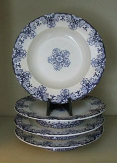 Pretty blue China!