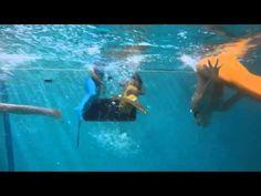 Mermaid Swim School in NYC with Sara Haines, GMA