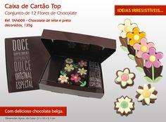O S. Pedro está à porta! Ofereça uma doce surpresa em forma de chocolate!