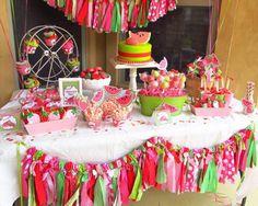 Idea del Día: Fiesta de Cumpleaños con color de sandía