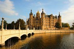 Castle, Bridge, Castle, Schwerin #castle, #bridge, #castle, #schwerin