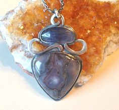 #amethyst and #agate #necklace