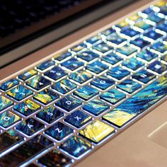 Van Gogh's Starry NightPervious to lightMacbookdecal by Tloveskin, $11.99