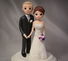 Custom Cake Topper -- Wedding Sculpture