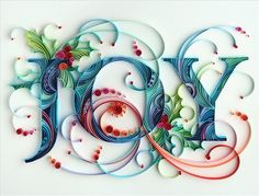 quilled joy, lovely