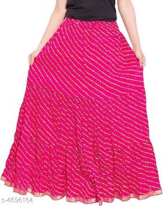 Checkout this latest Skirts Product Name: *Stylish Women's Skirt* Fabric: Cotton Pattern: Printed Multipack: 1 Sizes:  34, 36, 38, 40, 42, 44, Free Size Country of Origin: India Easy Returns Available In Case Of Any Issue   Catalog Rating: ★4.1 (382)  Catalog Name: Graceful Stylish Women's Skirts Vol 3 CatalogID_682079 C74-SC1013 Code: 903-4696164-078