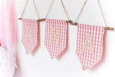 banderines de tela handmade