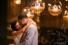 Anna and Spencer Photography Atlanta Documentary Wedding Photographers. Bride and groom's first dance at Briza Restaurant in Midtown Atlanta.