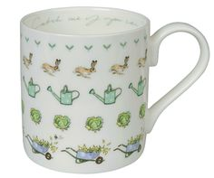 Gardening White China Mug, Sophie Allport Limited £9.50