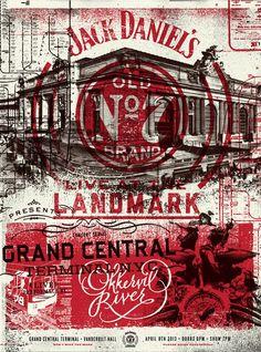 Poster de evento de Jack Daniels. By Two Arms Inc: