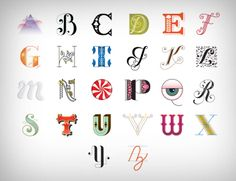 """She has a lot of different """"Drop Cap"""" letters here http://www.jessicahische.is/lettering/soooooooooomanyletters"""