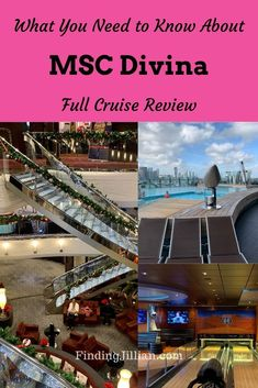 If you are considering booking a cruise on MSC Divina, check out this review covering embarkation, dining, activities onboard, specialty dining and more. There are pros and cons to MSC Divina so get the full cruise review here. #mscdivina #msccruise |plan a cruise | MSC cruises | MSC Divina |FindingJillian.com | cruise reviews | cruise planning Best Cruise, Cruise Port, Cruise Travel, Cruise Vacation, American Cruise Lines, American Cruises, Packing List For Cruise, Cruise Tips, Cruise Ship Reviews