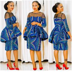 Best of the best Kitenge Short dresses you should have in can find Traditional dresses and more on our Best of the best Kitenge Sho. African Dresses For Women, African Print Dresses, African Attire, African Wear, African Women, African Fashion Ankara, African Inspired Fashion, African Print Fashion, African Blouses