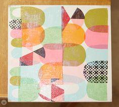 Artist Lynn Giunta teaches us how to create cut paper collage - Think.Make.Share.