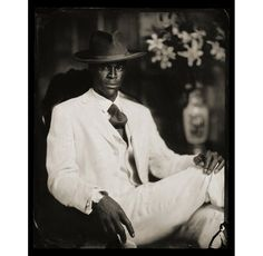 The black Dandy. He exudes power, elegance, style, all of which are extremely attractive. His black skin is smooth and beautiful, his features strong and manly. I love everything about this photo. #COMETHROUGHKING