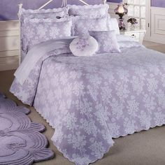 Shabby Chic Home Decor Shabby Chic Interiors, Shabby Chic Bedrooms, Shabby Chic Homes, Trendy Bedroom, Shabby Chic Furniture, Shabby Chic Decor, Coverlet Bedding, Bedding Sets, Bedspreads Comforters