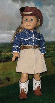 *AG COWGIRL 1 by Sugarloaf Doll Clothes, via Flickr