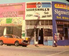 Marshall Street, Jeppe, circa 1978 Johannesburg City, Third World Countries, The Old Days, African History, Vintage Advertisements, Growing Up, South Africa, Landscape Photography, Old Things