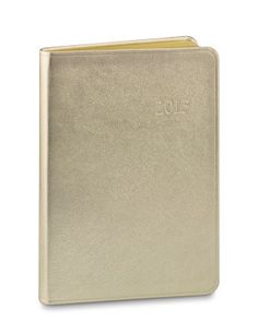 1deacc3a85 WSH loves our gold collection of leather. Gold leather Datebook   WilliamsSonoma  gold