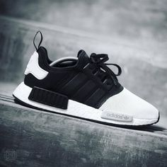 """Check out these crazy Adidas NMD """"Monotone"""" Custom by the homie let me know what you guys think? Me Too Shoes, Men's Shoes, Shoe Boots, Shoes Sneakers, Basket Sneakers, Sneaker Outfits, Reebok, Tenis Adidas Nmd Preto, New Balace"""