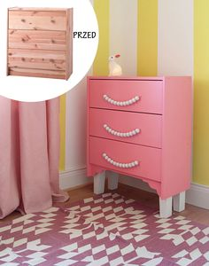 Ikea hack - Ikea Rast chest of drawers DIY