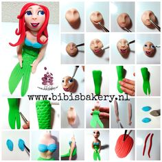 I am leaving my Winter themed pictorials for a moment, to show you how to make a mermaid, xxx Bibi.  #bibisbakery https://www.facebook.com/bibisbakery.nl