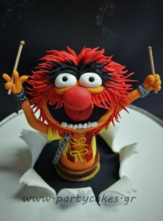 Animal Cake -The Muppets!