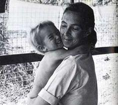 Jane Goodall. & son
