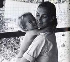 Jane Goodall and her son Grub