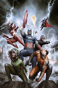 UNCANNY AVENGERS #23 RICK REMENDER (W) • SANFORD GREENE (A) Cover by AGUSTIN ALESSIO AGENTS OF S.H.I.E.L.D. VARIANT BY EMMA RIOS • Uncanny Avengers reunited! • The threat of Kang is over, but what are the repercussions? • Meet the new faces of the Marvel Universe! 32 PGS./Rated T …$3.99