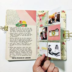 Layout: Doc-It Journal Travelers Notebook