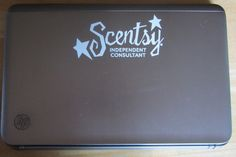 """My friend, Lisa Owen of Scentsy submitted this great and inexpensive idea to market your business around town. www.lowen.scentsy.us/  She said """"Since I spend a lot of time working my business on the computer, I decided to make sure my laptop was also working for me when I'm working on the go!! I believe it was about .50 each (I ordered in bulk) """" http://www.createacashflowshow.com/free-resources/radio"""